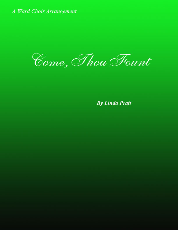 Come, Thou Fount of Ev\'ry Blessing tenor solo