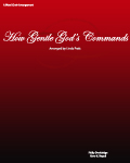 How Gentle God\'s Commands  SATB