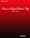Once in Royal David\'s City  SAB